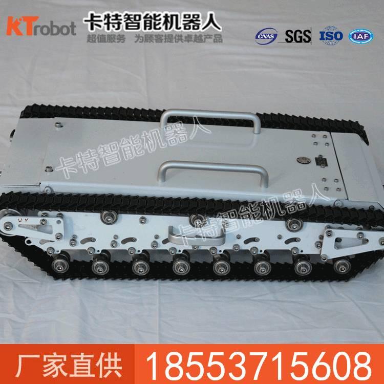 履带式底盘车Safari-25T优势 履带式底盘车参数