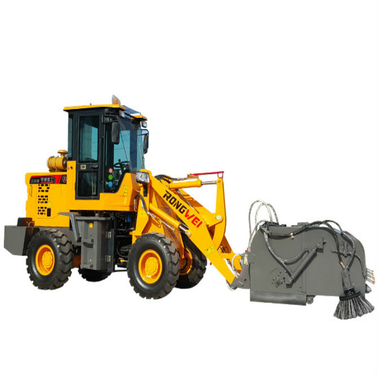 装载机式扫路机 装载机式扫路机应用