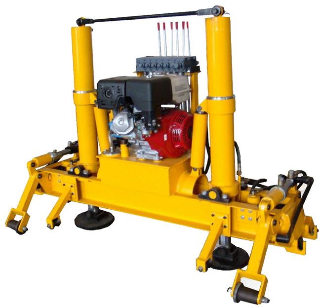 液压起拨道机、铁路起道和拨道专用设备