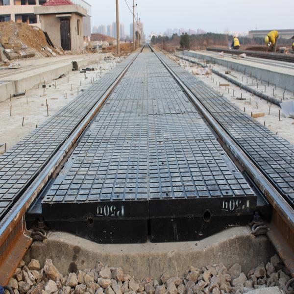 供应橡胶嵌丝道口板 铁路物资现货销售