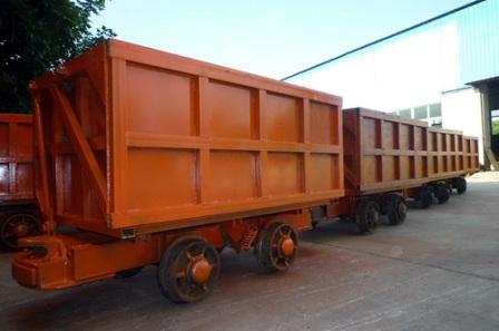 供应MCC2.5-6单侧曲轨侧卸式矿车