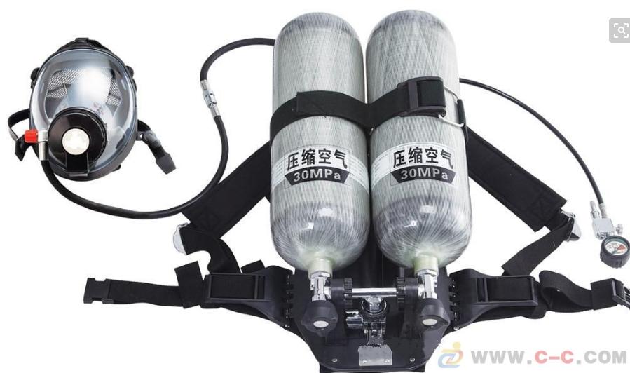 双瓶空气呼吸器