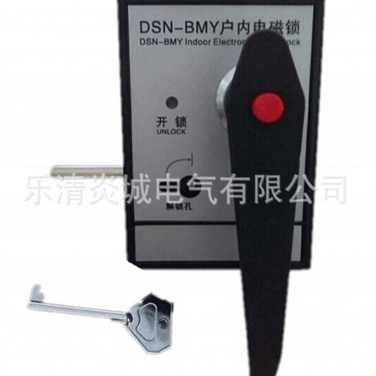 厂家供应DSN-BMZ DSN-BMY户内高压电磁锁 左开/右开配电柜门锁