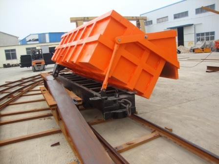 供应MCC1.2-6单侧曲轨侧卸式矿车