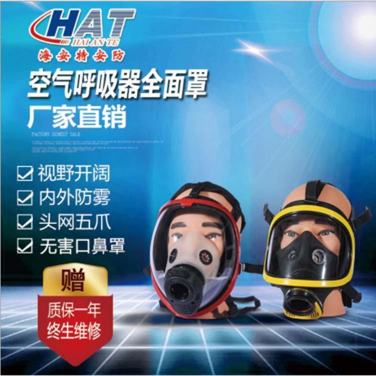 海安特厂家直销 空气呼吸器面罩 全面罩 巴固面罩 球形面罩 防毒