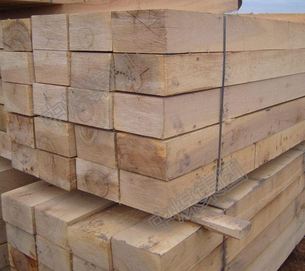铁路枕木 油寖枕木 注油道岔枕木厂家直销