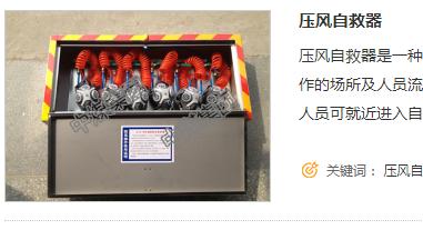供应ZYJ压风自救装置