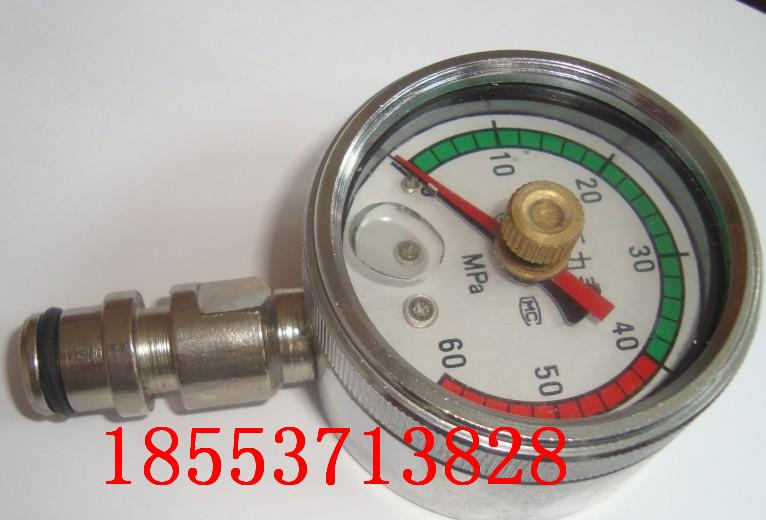 双针耐震压力表