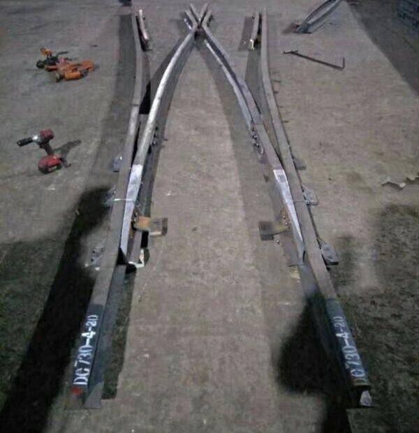 左右道岔 不同型号道岔 道岔厂家直供