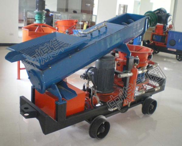 供应湿式混凝土喷射机