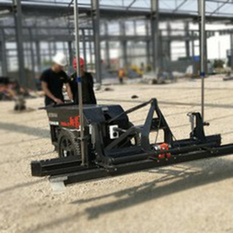 小型平地机 混凝土激光找平740 混凝土半自动整平机