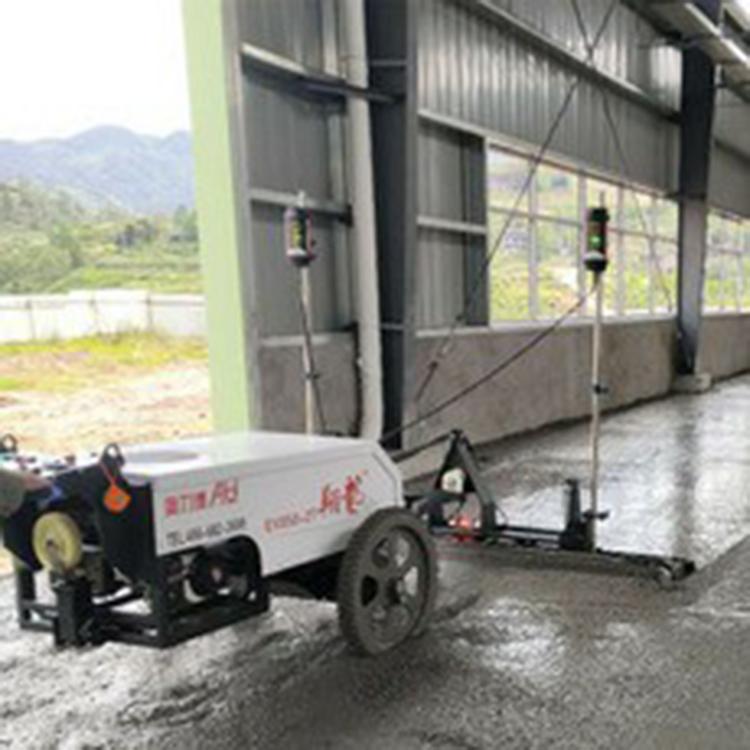 路面整平机 混凝土路面振动整平机厂家 激光水泥路面找平机