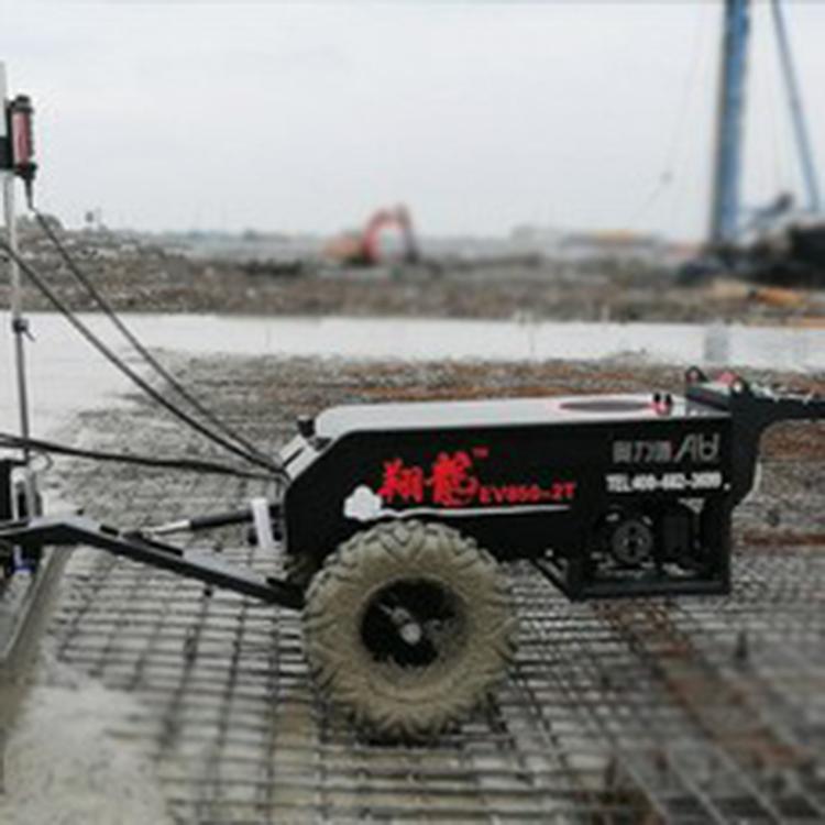 水泥路面平整机 混凝土铺路机乡村道路 混凝土激光自动找平机