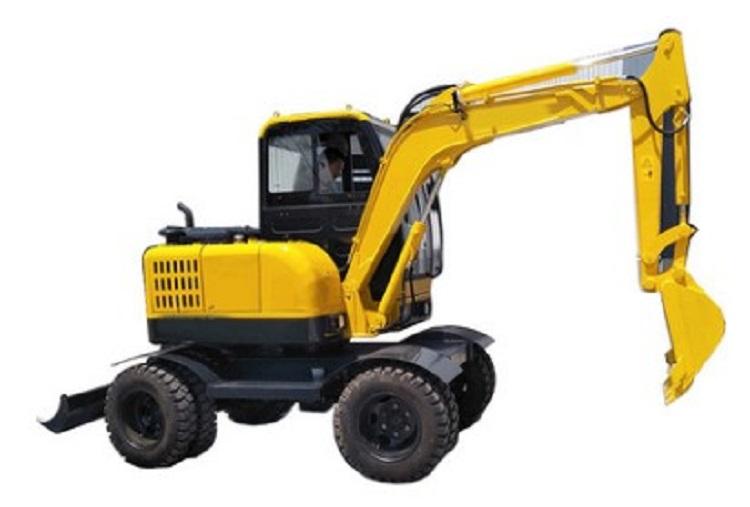 履带式市政工程挖土机