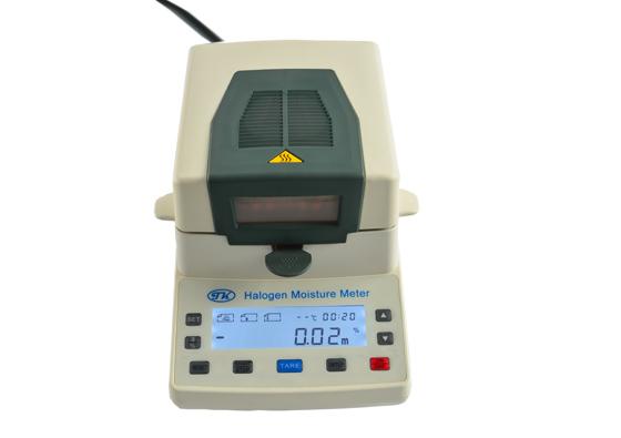 供应高精度千分之1精度卤素水分仪  制药原料水分检测仪
