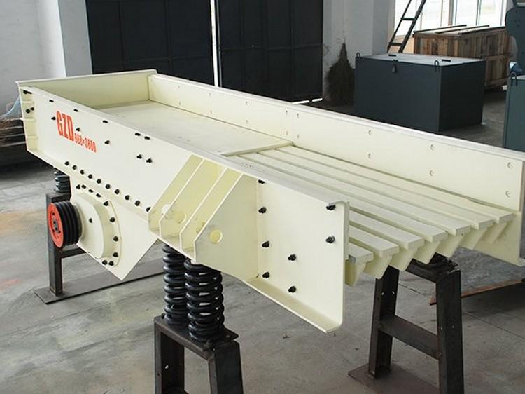 振动给料机-石料线板式给料机,矿山专用自动喂料