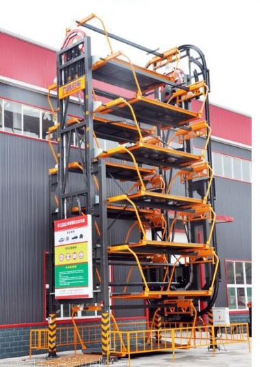 八车位垂直循环立体车库