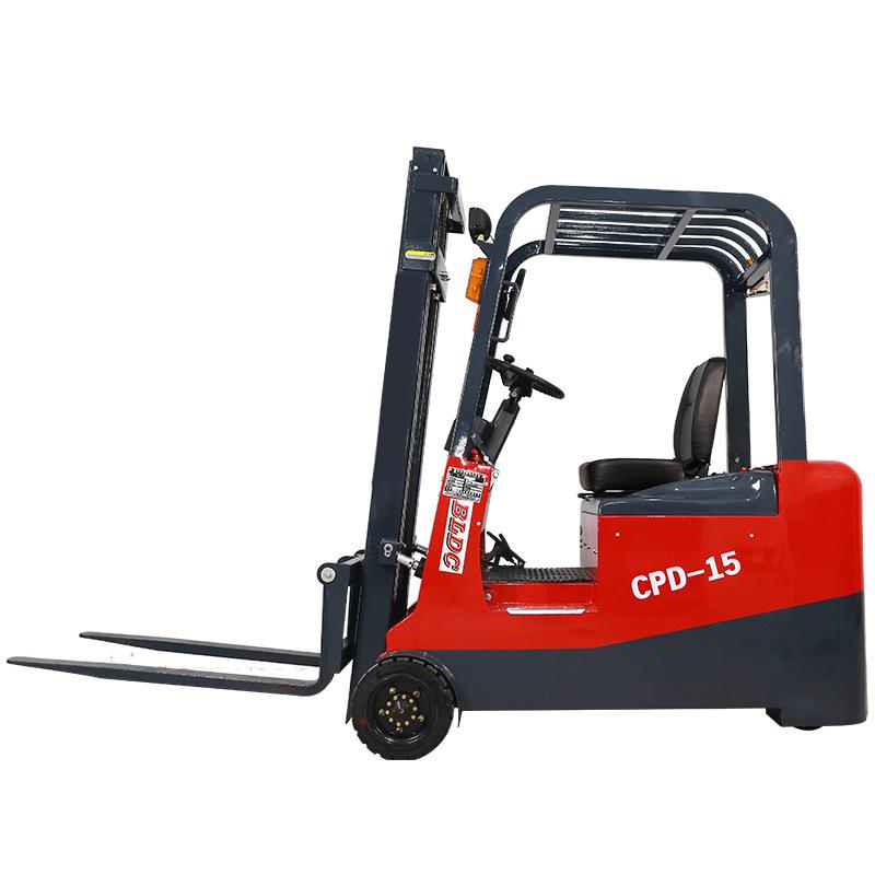 三支点CPD1.5吨电动叉车生产商 供应三支点CPD1.5吨电动叉车