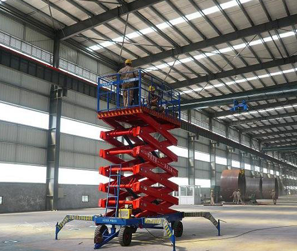 16米四轮移动式升降机生产厂家,16米四轮移动式升降机畅销