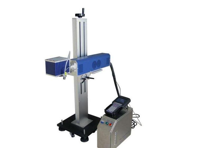 分体立式结构光纤激光喷码机