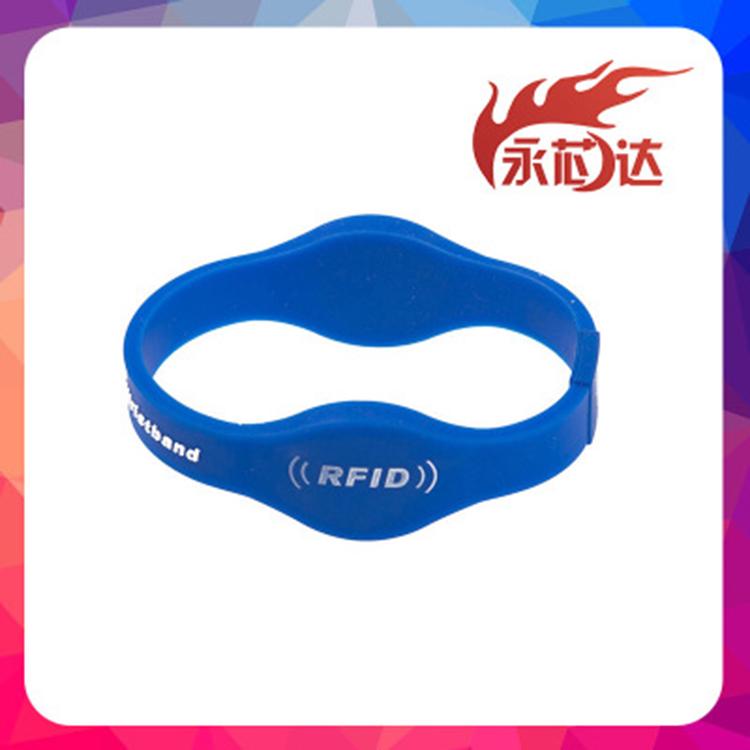 RFID双频手环腕带效果 双频手环腕带供应商