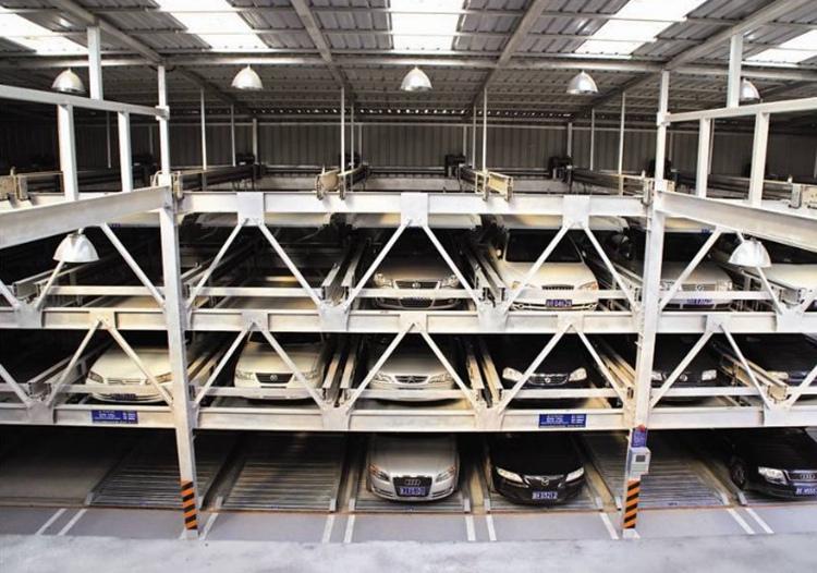 四层升降横移式立体车库