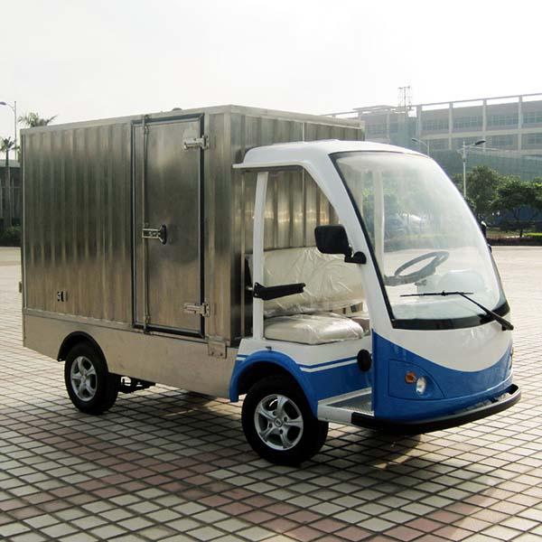 电动载保温货车厂家 电动载保温货车(不锈钢货箱)尺寸规格