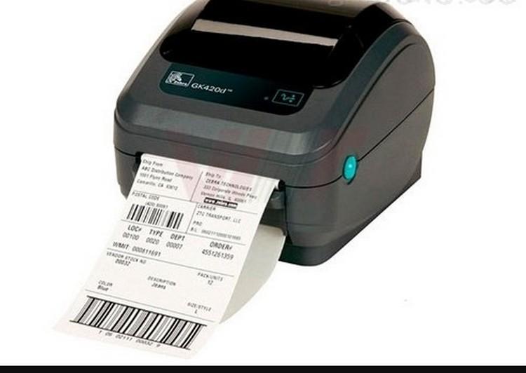 斑马条码打印机 GK420d