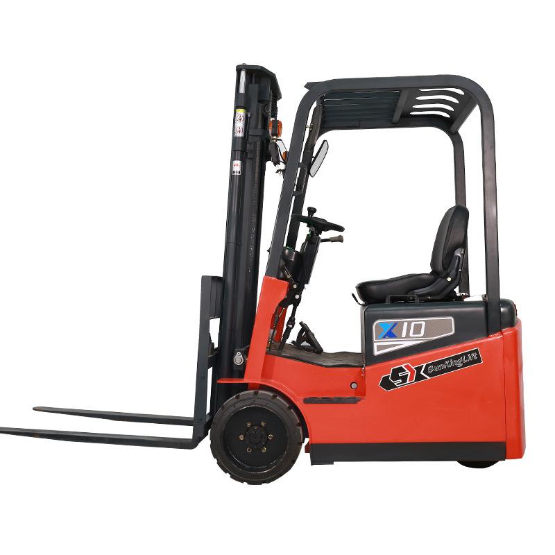销售10铅酸三轮电动平衡重叉车 直销10铅酸三轮电动平衡重叉车