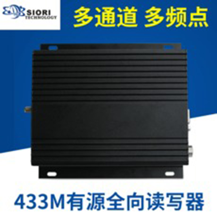 33MHZ全向有源读写器 远距离RFID电子标签门禁读卡器