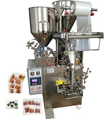 香菇酱包装机|火锅底料包装机