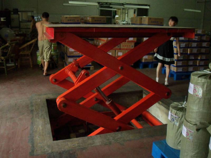 供应运城升降机 液压升降货梯 登车桥