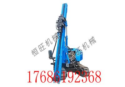 6米履带打桩机 压桩拔桩钻孔一体打桩机 旋转打桩机