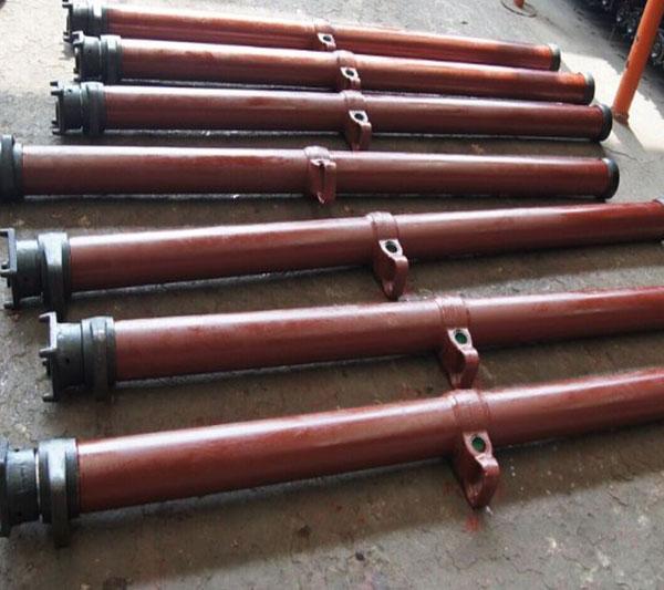 双伸缩悬浮单体液压支柱