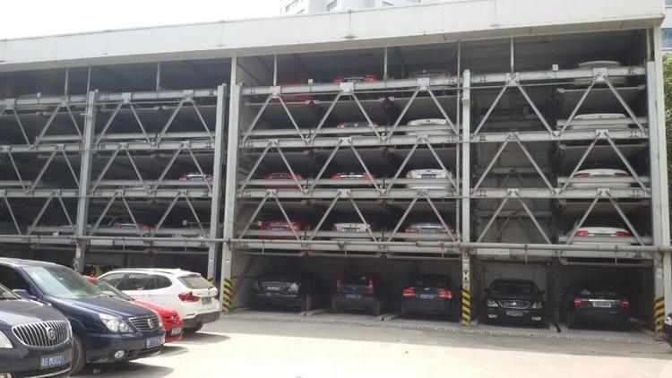 五层升降横移式立体车库