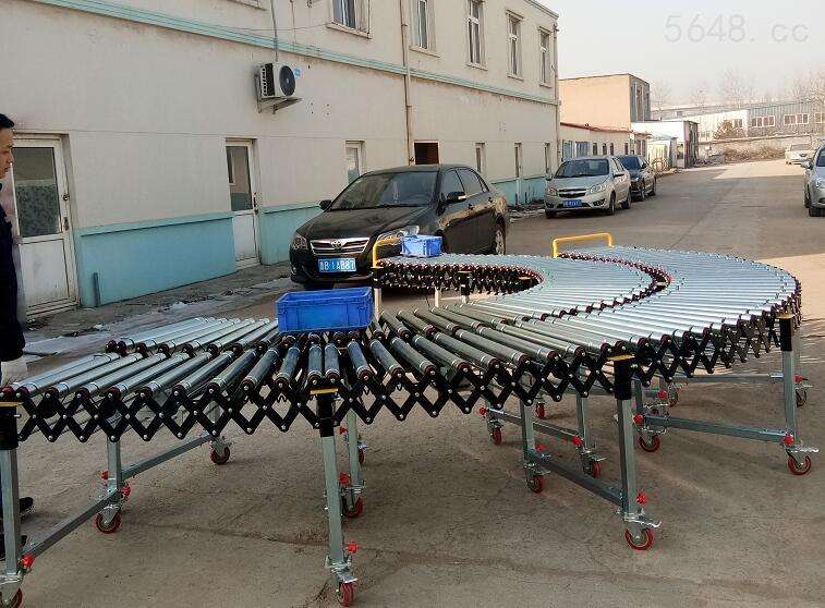 动力伸缩滚筒输送机生产商认准优耐德科技