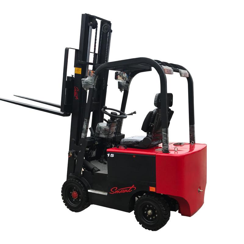 全电动堆高车四轮座驾式叉车生产商 直销全电动堆高车四轮座驾式叉车