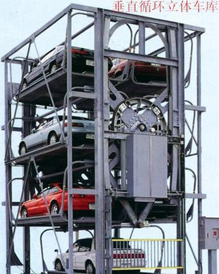 六车位垂直循环立体车库