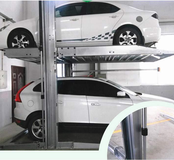 升降两立柱立体车库