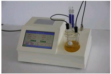 供应青岛拓科厂家直销库伦法试剂油品类卡尔费休水分仪