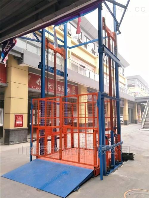 江苏,青岛升降货梯导轨链条升降机厂家供应