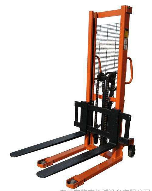 液压步行式半自动电动堆高机