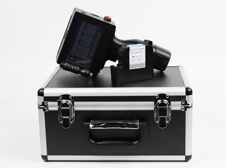 .手持在线智能喷码机食品包装生产日期打码机
