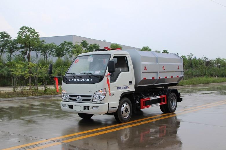 5吨挂桶垃圾车,5吨挂桶垃圾车特点,5吨挂桶垃圾车参数