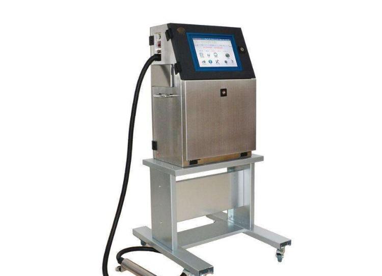 食品生产日期喷码机 金属光纤字符喷码机