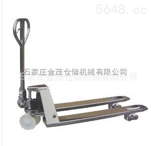 生产不锈钢液压托盘叉车 咨询不锈钢液压托盘叉车