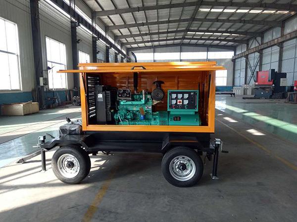 50KW移动拖车发电机组