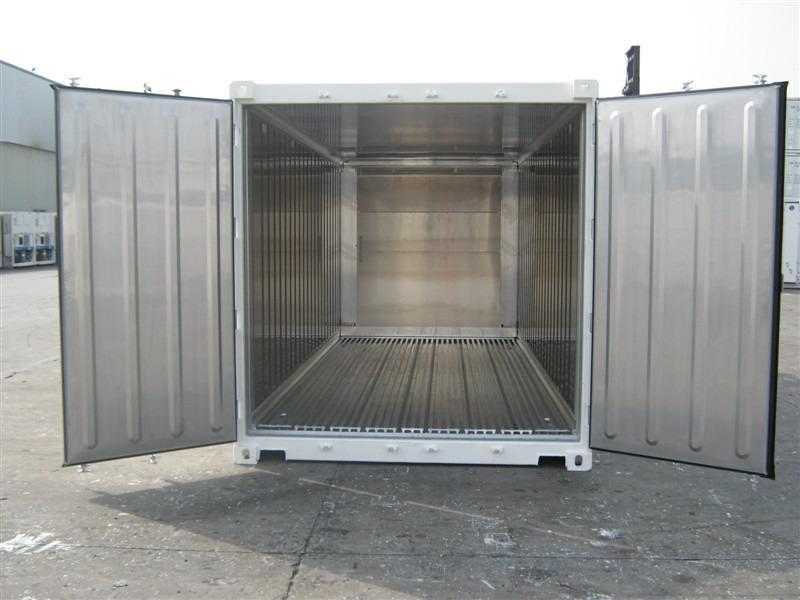 20吨铝合金密闭冷藏箱集装箱供应