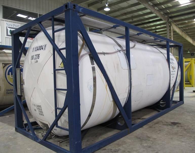 上海液体货集装箱 罐式箱供应