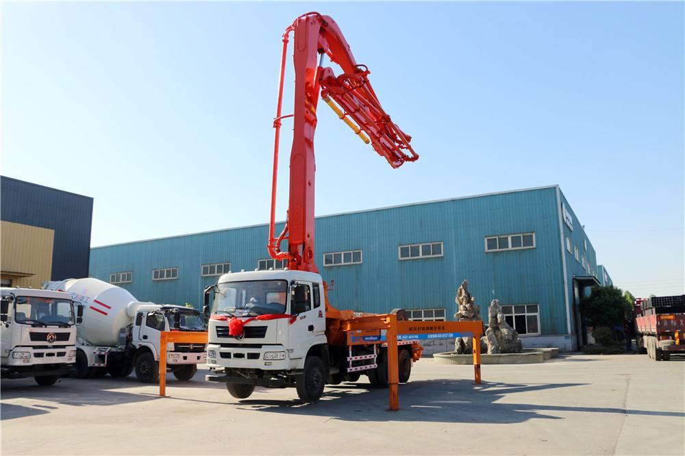34米混泥土移动泵车技术参数